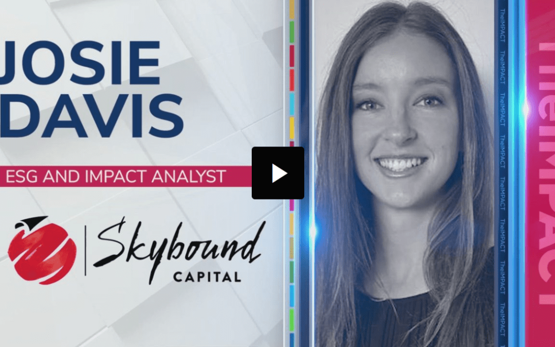 ESG investment, risk, and opportunity with Josie Davis and Rachel Pether
